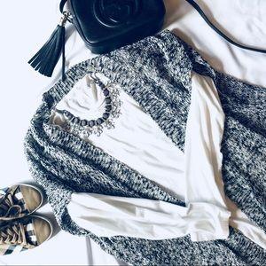 Eileen Fisher Organic Linen/Cotton Cardigan